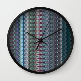 Transitory Waveform Wall Clock