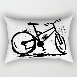 Rest bike Rectangular Pillow