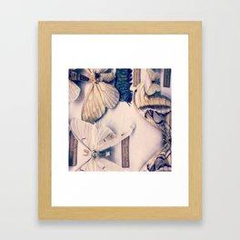 A Mé·lange of Butterflies Framed Art Print