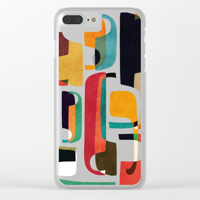 Call her now Clear iPhone Case