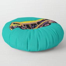 Dakar Car Rapide Floor Pillow