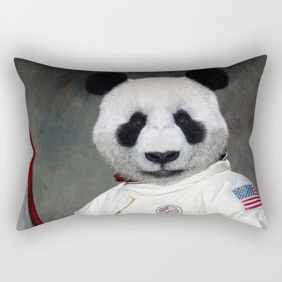 Bear-o-naut Rectangular Pillow