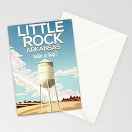 Little Rock Arkansas Vintage travel poster Stationery Cards