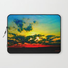 Curdled Clouds Laptop Sleeve