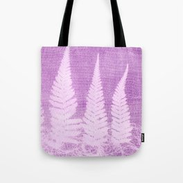 Fern leaves #3 Tote Bag