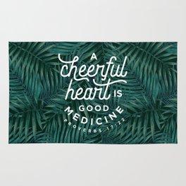 A Cheerful Heart Rug