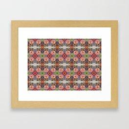 MARINA'S FLOWERING MUSIC Framed Art Print