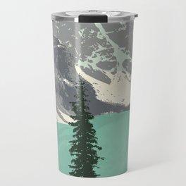 Moraine Lake Poster Travel Mug