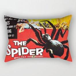 The Spider, vintage horror movie poster Rectangular Pillow