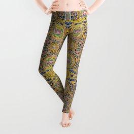 Floral Persian Tile Leggings