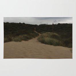 Walk on the beach Rug