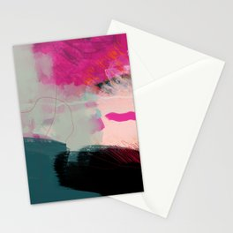new abstract 1 Stationery Cards