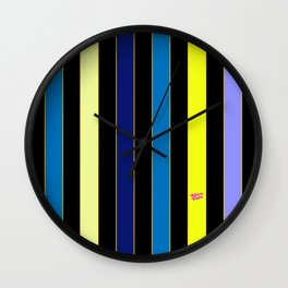 POP SCREEN TEST IV Wall Clock