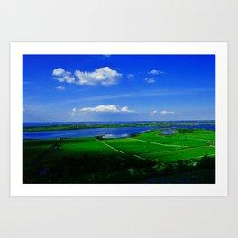 View from the Burren  Art Print