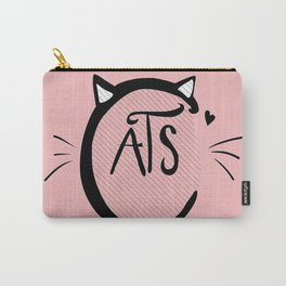Cats Love Carry-All Pouch