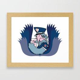 Yarrr! Framed Art Print