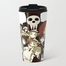Soul Eater Characters Metal Travel Mug
