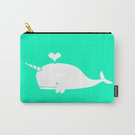 For the Love of Narwhals Carry-All Pouch