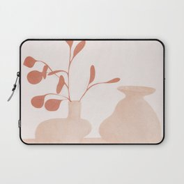 Minimal Branches and Vases Laptop Sleeve