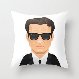 Mr. White - Harvey Keitel Throw Pillow