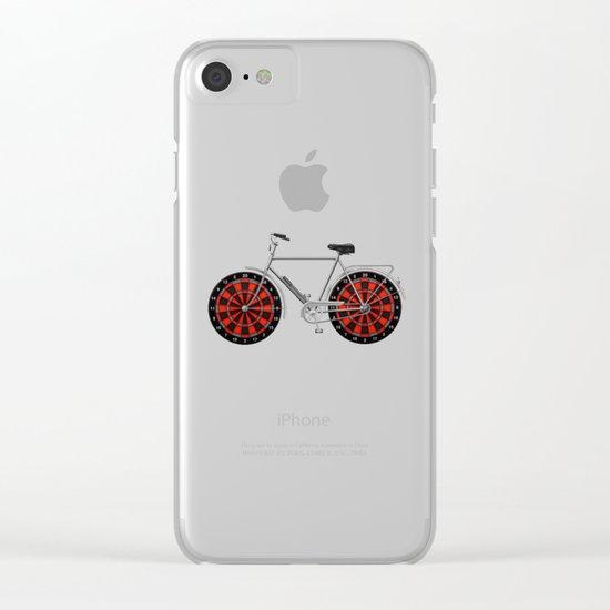 Pikado bike Clear iPhone Case