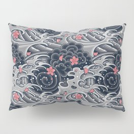 Japanese Tattoo Pillow Sham