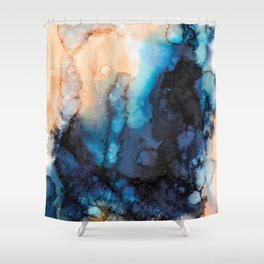 Ink no4 Shower Curtain