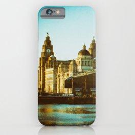 Albert Dock and Three Graces iPhone Case