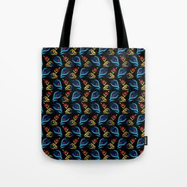 Turkish tulip - Ottoman tile pattern 2 Tote Bag