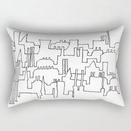Skylines and Chimneys Rectangular Pillow