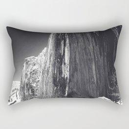 Ansel Adams Photo Monolith The Face Of Half Dome 1927 Rectangular Pillow