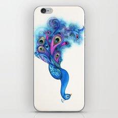 Watercolor Peacock iPhone & iPod Skin