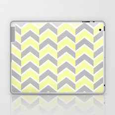 Sun and Clouds Chevron Laptop & iPad Skin