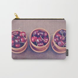 Cherries in Terra Cotta Pots Carry-All Pouch