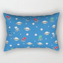Chair Baseball UFO Rectangular Pillow
