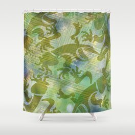 Cave Art 2 Shower Curtain