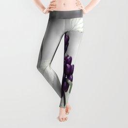 Purple Berries  Leggings