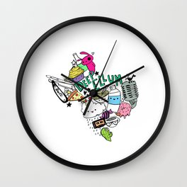Texas Love Wall Clock