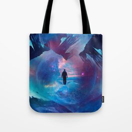 I am tired of earth Dr manhattan Tote Bag