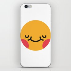 Emojis: Blush iPhone & iPod Skin