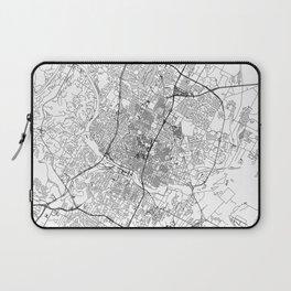 Austin White Map Laptop Sleeve