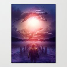 The Space Between Dreams & Reality Canvas Print