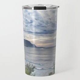 Hanalei Bay Sunset Travel Mug