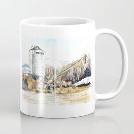 Inktober '19: The Farm Coffee Mug
