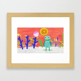 Bright Seasons Framed Art Print
