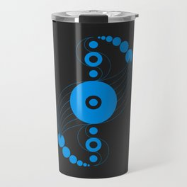 dna aliens, sacred geometry Travel Mug