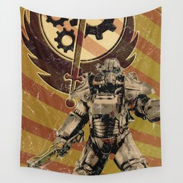 Fallout 4 - Brotherhood of Steel recruitment flyer Wall Tapestry