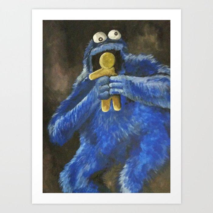 Cookie! Art Print