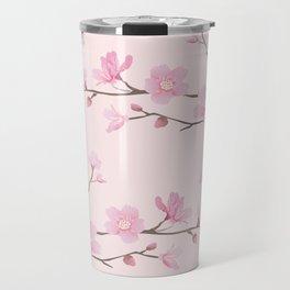 Cherry Blossom - Pink Travel Mug