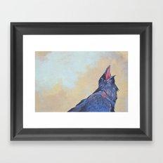 Montara Crow #1 Framed Art Print
